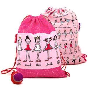 Ballet Bag - Tyrrell Katz - Children's Activity Bag - Draw String Ballet Bag - Sports Activity Bags for Children