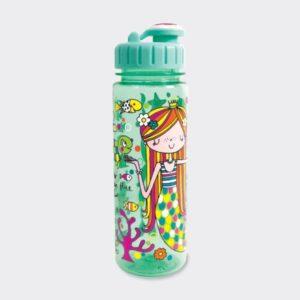 Mermaid Drinking Bottle For Children - 500ml - Rachel Ellen Designs - Children's Mermaid Drinking Bottle